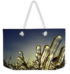 Icy Lawn Weekender Tote Bag
