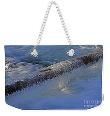 Icy Log Weekender Tote Bag