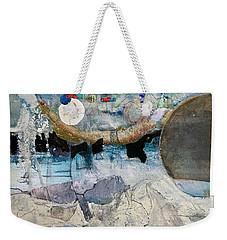 Icy Moon Weekender Tote Bag