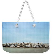 Icy Morning Weekender Tote Bag