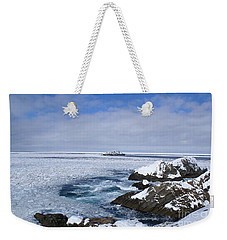 Icy Ocean Slush Weekender Tote Bag
