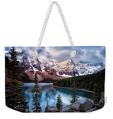 Icy Stillness Weekender Tote Bag