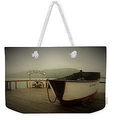 Icy Strait Point Boat Weekender Tote Bag