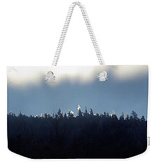 Icy Sunrise Weekender Tote Bag