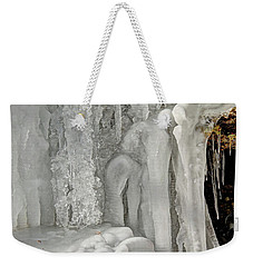 Icy Tendrils Weekender Tote Bag