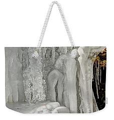 Icy Tendrils Weekender Tote Bag