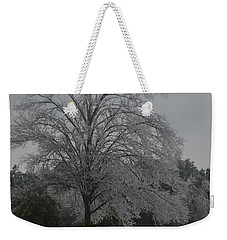 Icy Tree Weekender Tote Bag