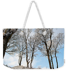 Icy Trees Weekender Tote Bag