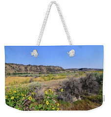 Weekender Tote Bag featuring the photograph Idaho Landscape by Bonnie Bruno