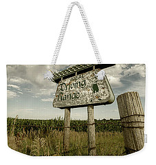 Ideal Driving Range Weekender Tote Bag