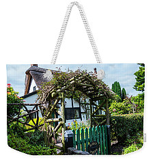 Idyllic Holly Trees Cottage Weekender Tote Bag