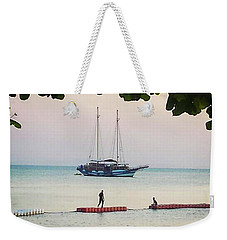 Weekender Tote Bag featuring the photograph Idyllic Setting To Idle The Time Away by Mr Photojimsf