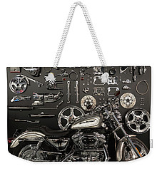 Weekender Tote Bag featuring the photograph If Bling Is Your Thing by Randy Scherkenbach