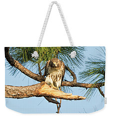 If Looks Could Kill - Hawk Weekender Tote Bag