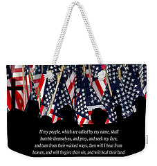 If My People Weekender Tote Bag