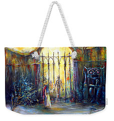Weekender Tote Bag featuring the painting ...if Only by Heather Calderon