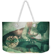 If Only I Wish Weekender Tote Bag by Jessica Shelton