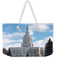 If Temple Against The Sky Weekender Tote Bag