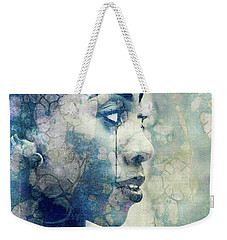 Weekender Tote Bag featuring the digital art If You Leave Me Now  by Paul Lovering