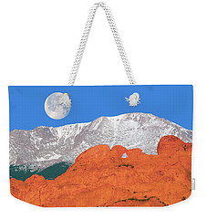 If You're Lucky Enough To Live In The Mountains, You're Lucky Enough.  Weekender Tote Bag by Bijan Pirnia