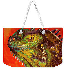 Iggy Weekender Tote Bag by Cynthia Powell