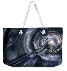 Weekender Tote Bag featuring the photograph Ignition by Mark Fuller