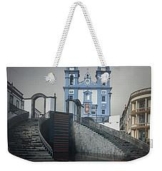 Igreja Da Misericordia De Angra Do Heroismo Weekender Tote Bag by Kelly Hazel