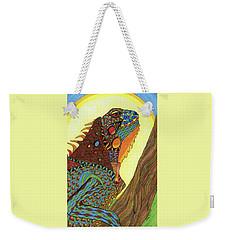 Iguana Weekender Tote Bag