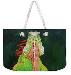 Iguana Dude Weekender Tote Bag