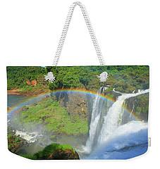 Iguazu Rainbow Weekender Tote Bag