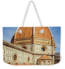 Weekender Tote Bag featuring the photograph Il Duomo Florence Italy by Joan Carroll