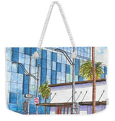 Il Fornaio In Beverly Hills, California Weekender Tote Bag