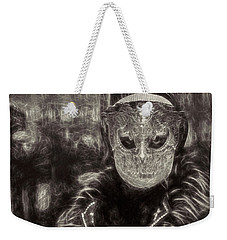 Weekender Tote Bag featuring the digital art Il Gottico by Jack Torcello
