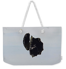 Weekender Tote Bag featuring the photograph Ile Scindee by Marc Philippe Joly
