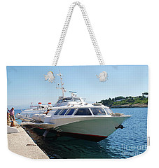 Ilida 11 Hydrofoil On Paxos Weekender Tote Bag