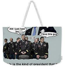 I'll Bomb The  Weekender Tote Bag