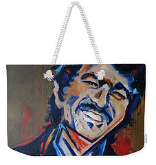 Illegal Smile Weekender Tote Bag