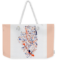 Illinois-illini Weekender Tote Bag by Phil Strang