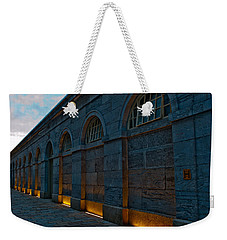 Illuminated Arches Weekender Tote Bag by Helen Northcott