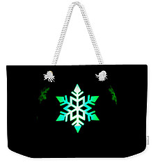Illuminated Candle Bulb Weekender Tote Bag