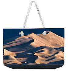Illuminated Sand Dunes Weekender Tote Bag by Alana Thrower