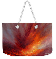 Illumination Weekender Tote Bag by Valerie Travers