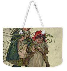 Illustration From Christmas Tree Fairy Weekender Tote Bag