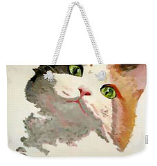 I'm All Ears Weekender Tote Bag by Tracey Harrington-Simpson