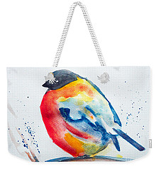 I'm Cold Weekender Tote Bag by Jasna Dragun