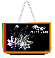I'm Crazy In Love With Mary Jane Weekender Tote Bag