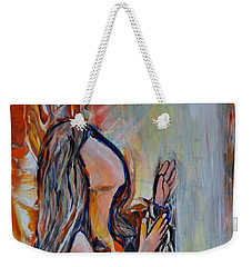 I'm Desperate For You Weekender Tote Bag