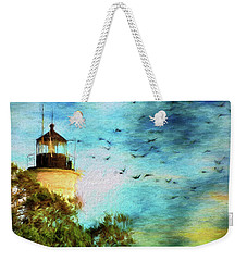 Weekender Tote Bag featuring the photograph I'm Here To Watch You Soar II by Jan Amiss Photography