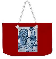 I'm So Blue Weekender Tote Bag