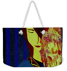 Weekender Tote Bag featuring the painting I'm Still Here by Bill OConnor
